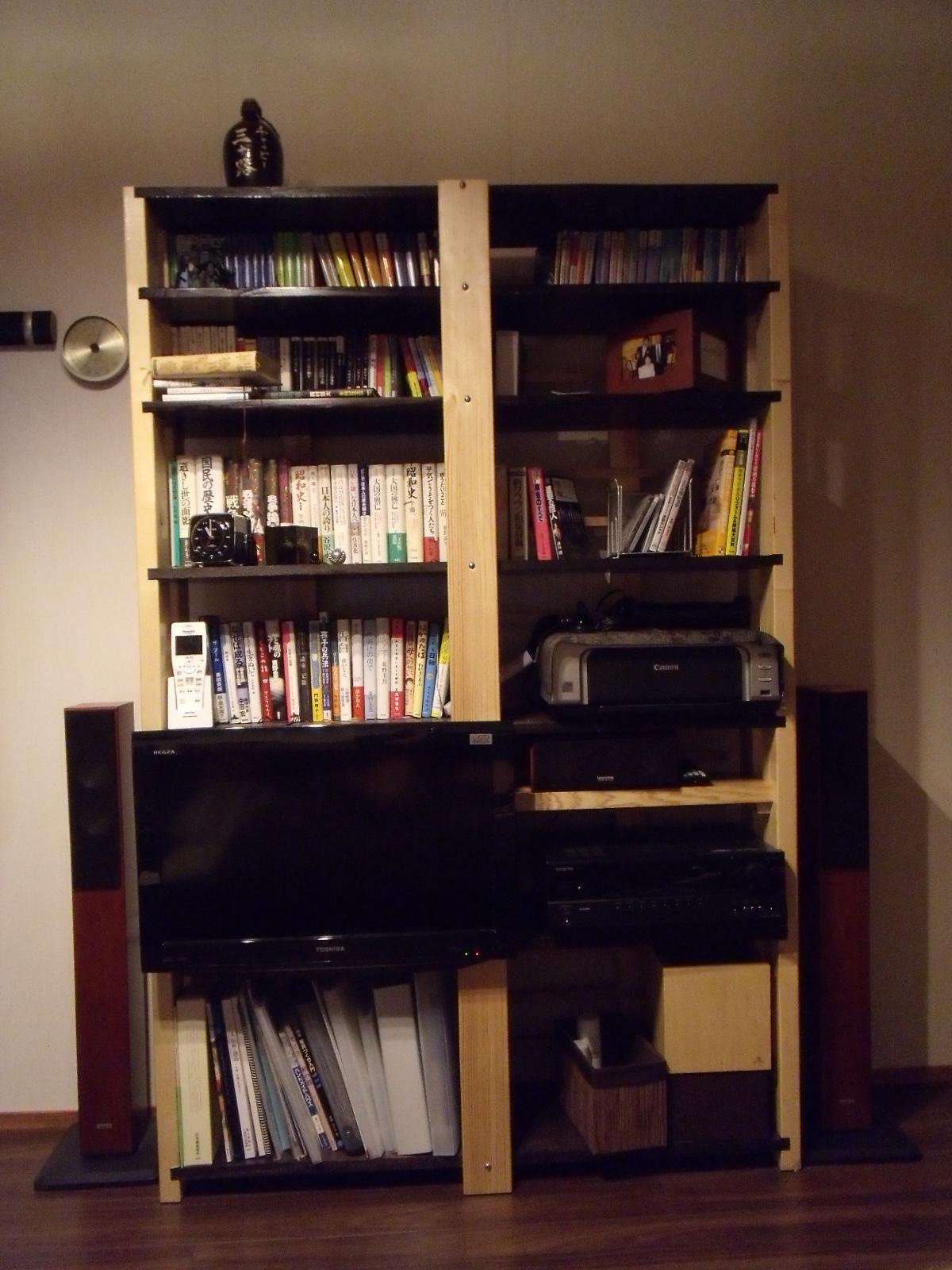 自作の本棚