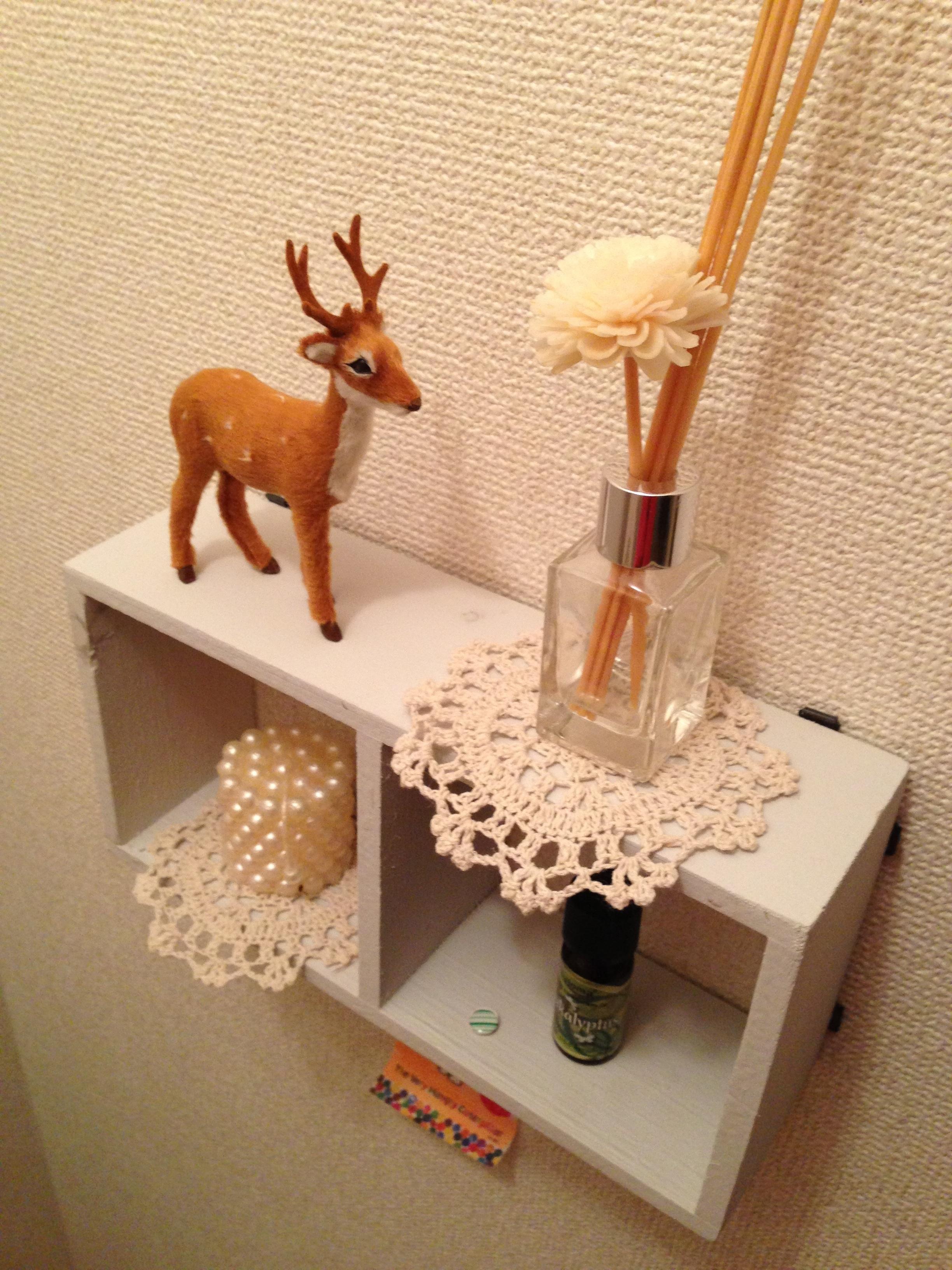 トイレの飾り棚