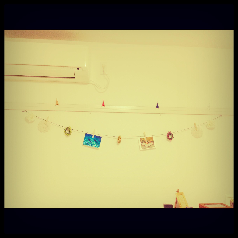 壁に吊ってみた
