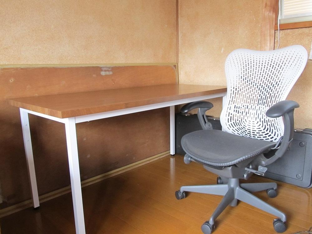 机を作ってみた。