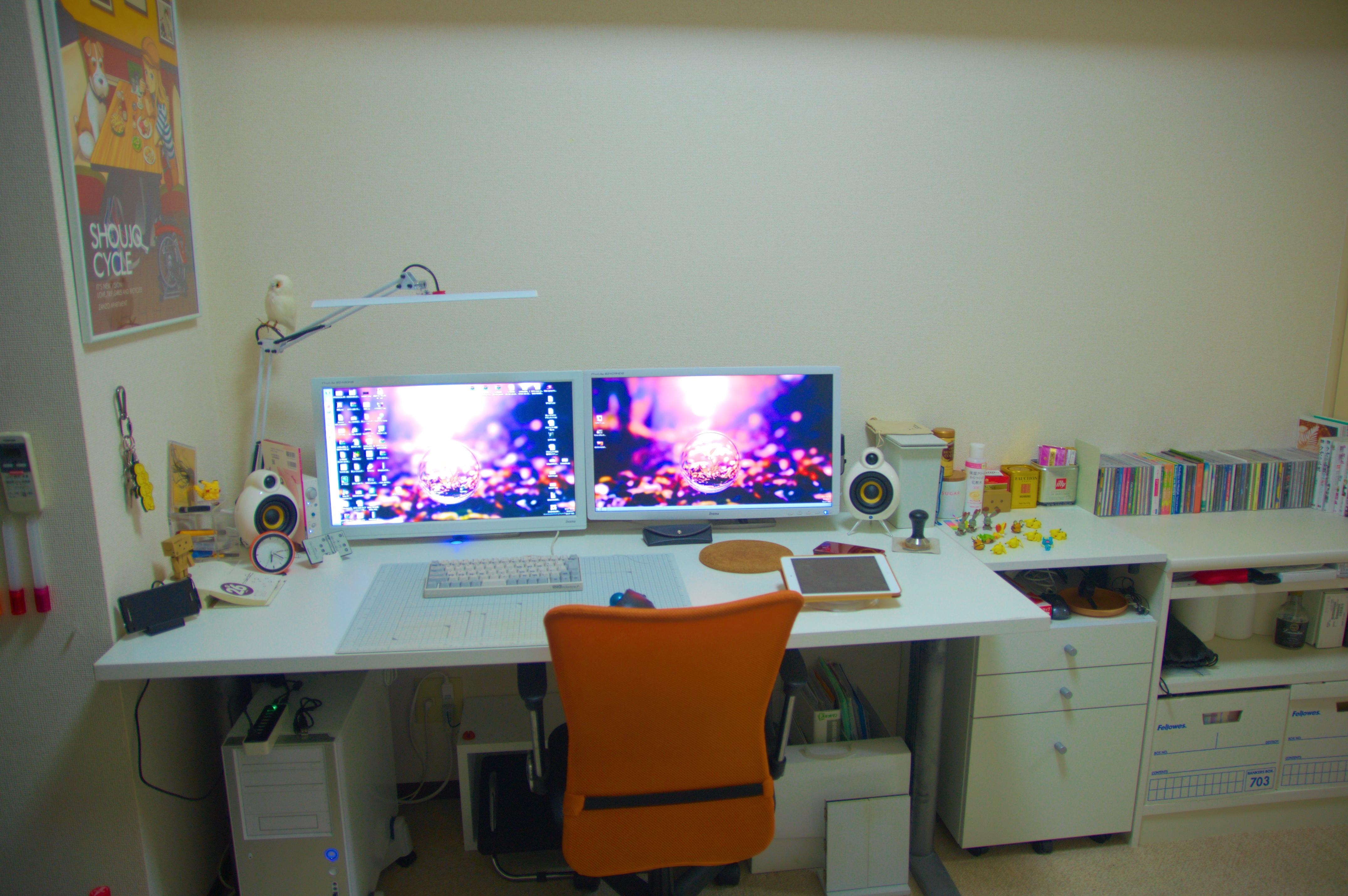 20140126_自宅PCデスク側壁