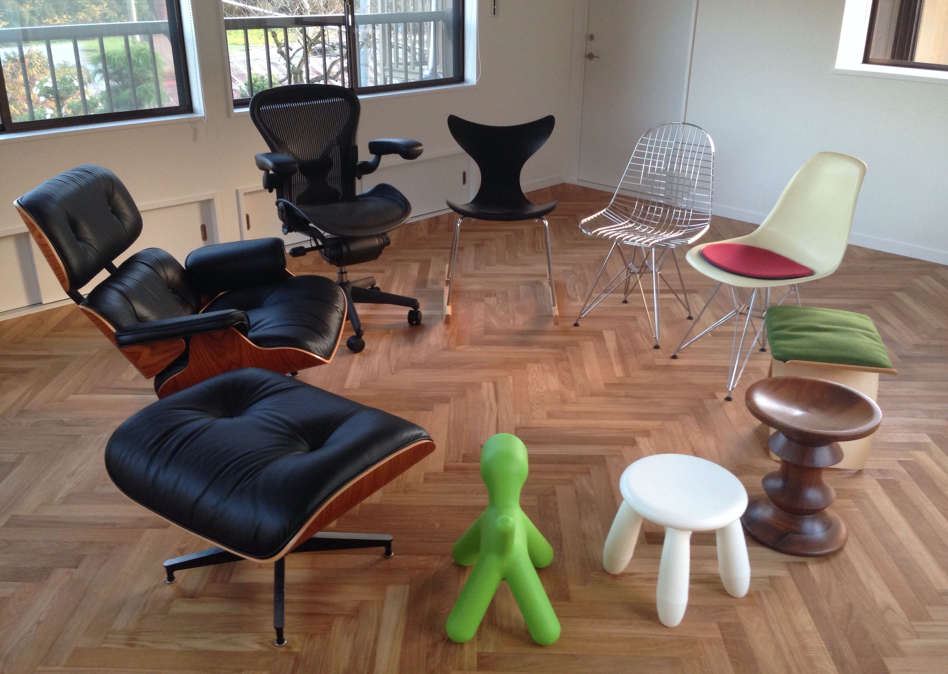 椅子コレクション