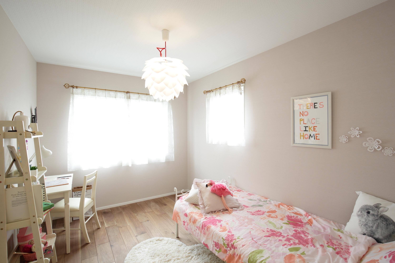 モデルハウスの子供部屋